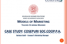 Cosepuri for Models of Marketing