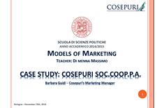 Cosepuri per Models of Marketing