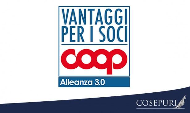 Convenzione Cosepuri riservata ai soci Coop Alleanza 3.0