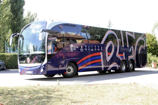 Cosepuri official coach operator of Bologna F. 1909C.